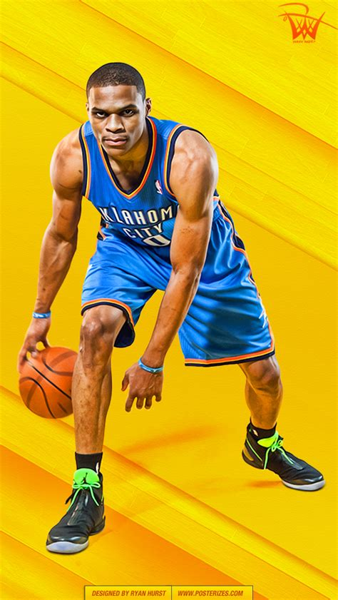 russell westbrook   wallpaper posterizes nba