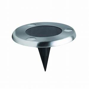 STAINLESS STEEL SOLAR UPLIGHT - ECOFORCE - Practical and