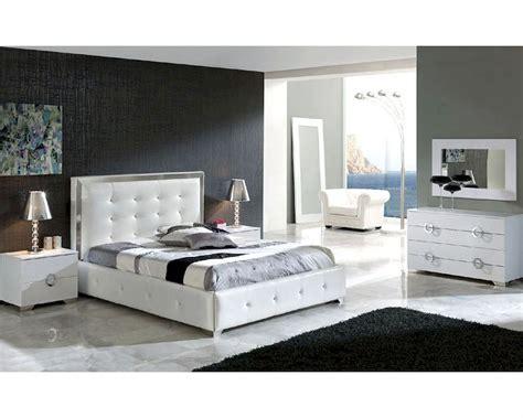 modern bedroom set valencia  white   spain