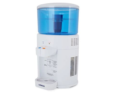 Kitchen Bench Water Filter by Lenoxx 5l Benchtop Water Filter Chiller Catch Au