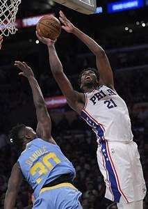 Multi-skilled Joel Embiid cooks Lakers for 46 points on ...