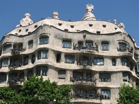 chambre d hote barcelone la pedrera casa milà maison gaudi barcelone barcelone