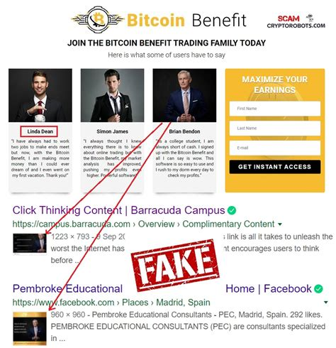 ''they asked for a payment in bitcoins min investment usd 300. Bitcoin Benefit Review, SCAM Exposed! | Scam Crypto Robots