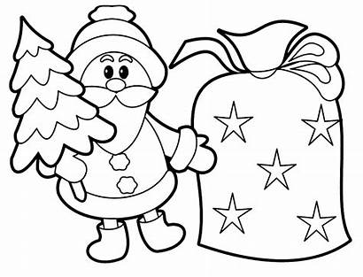 Coloring Christmas Pages Printable Printables Wallpapers9