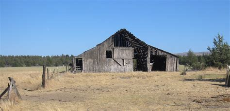 Old Barn In Wasco County, Oregon.jpg