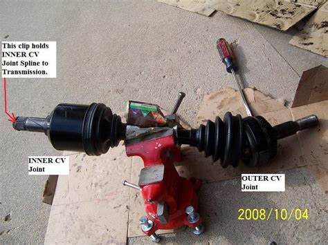 fwd cv joint boot replacement tips tricks