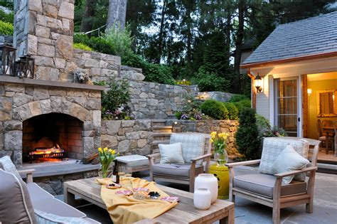 Backyard Fireplace Ideas by 7 Patio Must Haves For Summer Entertaining