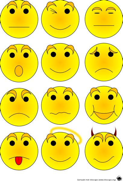 Feelings Clipart Free Emotions Clipart