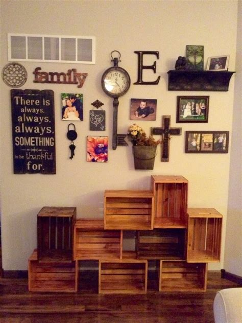 awesome wall decorations pinterest  diy living room wall decor laurensthoughtscom