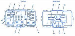 2009 Honda Crv Fuse Box Diagram