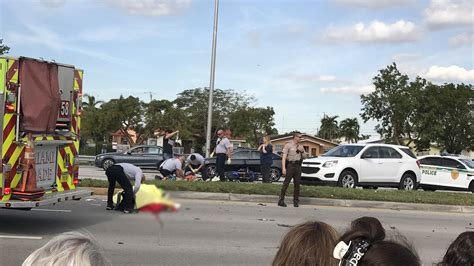 Man Killed In Motorcycle Crash In West Miami-dade