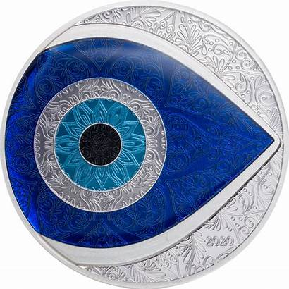 Evil Eye Coin Palau 1oz Proof Oz