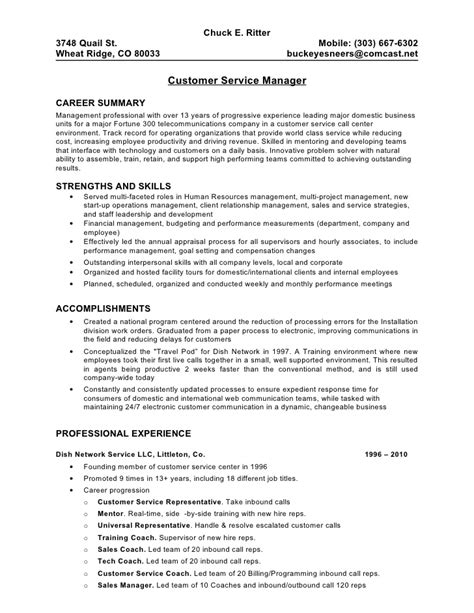 100 sle resume objectives for customer service
