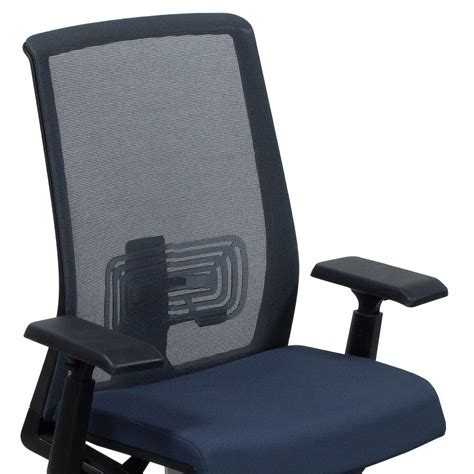 haworth lively used mesh back task chair gray national