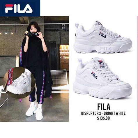 Sepatu Fila Disruptor made in korea sepatu sneakers lari casual model fila