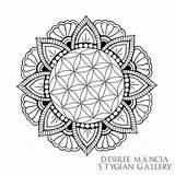 Mandala Drawing Visual Drawings Noose Simple Neck Around Getdrawings Sketch Flowers Cartoon Audio Icon sketch template