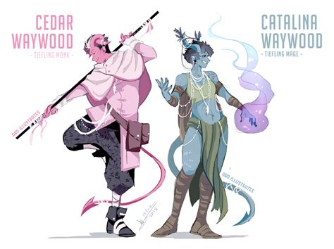Fjord Dnd by Dnd Character Designs The Waywood Siblings By Abd