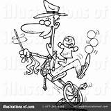 Unicycle Clipart Toonaday Rf sketch template