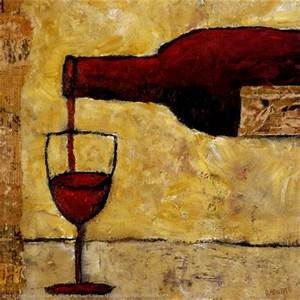 Red Wine Art by Judi Bagnato - AllPosters.co.uk