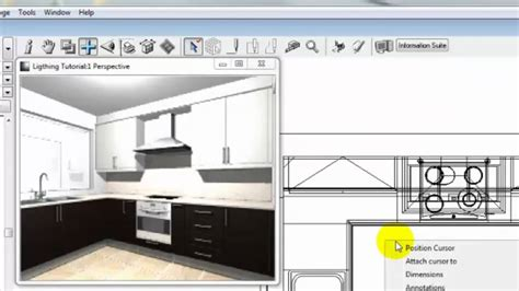 planit kitchen design software fusion lighting tutorial part 1 4256