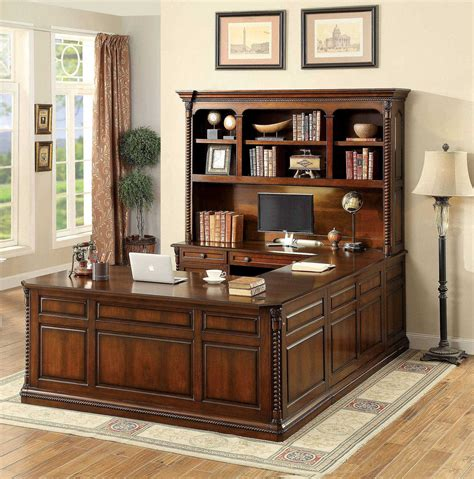 Office Furniture Sets by Furniture Of America Lavinia 4pc Office Furniture Set