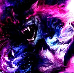 Pink and Purple Tiger