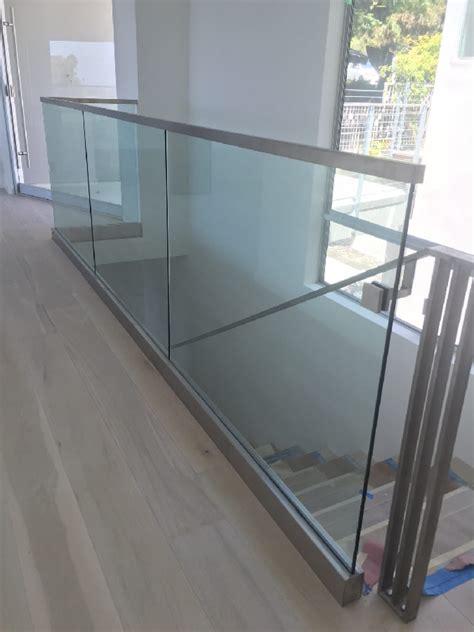 safety tempered glass interior railing patriot