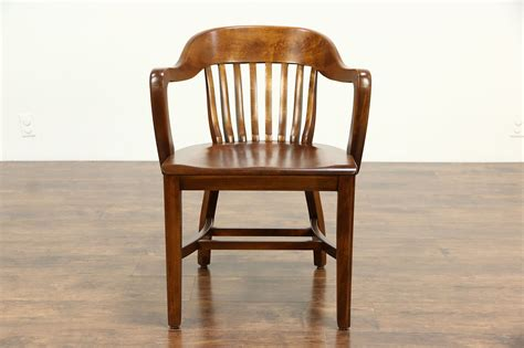 sold desk office  library chair  arms  vintage harp gallery