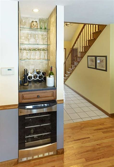 Small Bar Area In Kitchen by Built In Storage And Cabinet Design Ideas Photos And