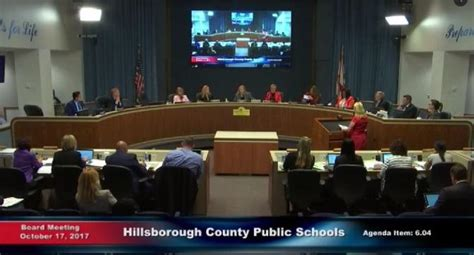 hillsborough school board approves proposed bell schedule
