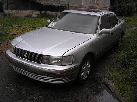 1992 Lexus Ls400 Photos 4 0 Gasoline Fr Or Rr