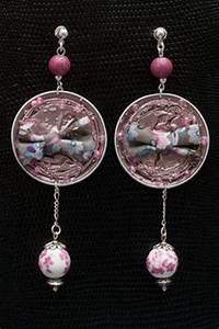 porte cles en plastique fou fete des meres galerie With affiche chambre bébé avec boucle d oreille fleur or