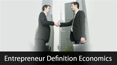 Entrepreneur Economics - Awesome Work at Home