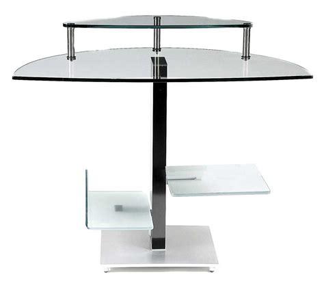 modern glass computer desk modern glass desks for home office modern computer desks