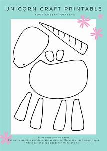 unicorn craft activity flower crown and free printables With free craft templates to print