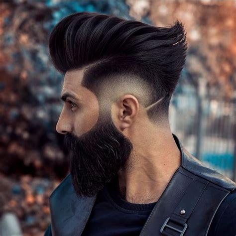 fryzury meskie na dlugie wlosy  zdjec wygolone boki  inne    images haircut