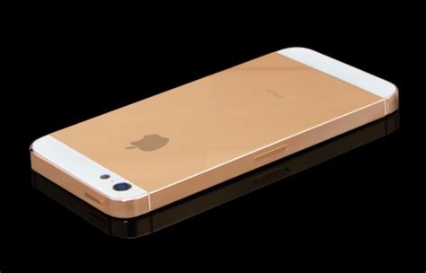 gold iphone 5 it looks like there s really a golden iphone on the way