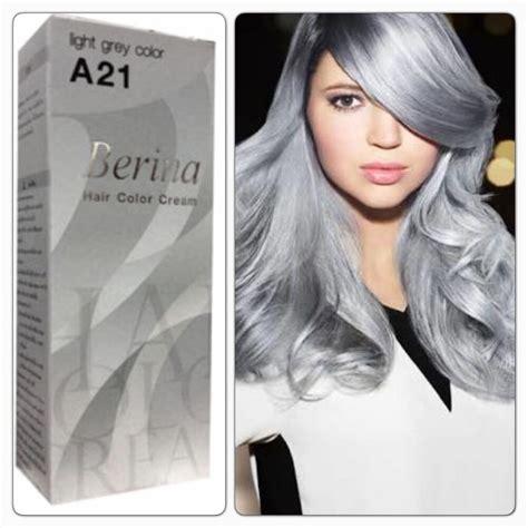 New Berina Hair Colour Permanent Cream Hair Dye Light