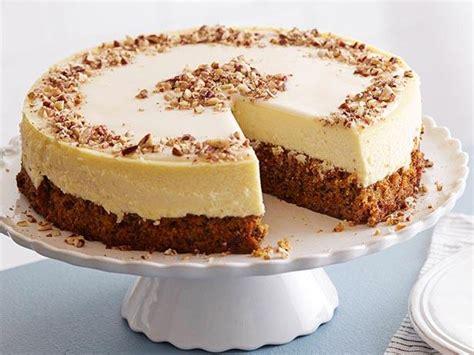 carrot cake cheesecake carrot cake cheesecake recipe food network kitchen