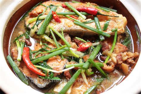 cuisine vietnamienne recette poisson mijoté à la vietnamienne cá kho tộ la