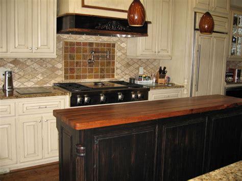 wood tops for kitchen islands mesquite custom wood countertops butcher block