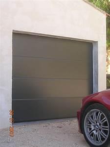porte garage automatique menuiserie castellaz With porte garage automatique