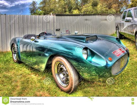Custom Made Sports Car Stock Photography
