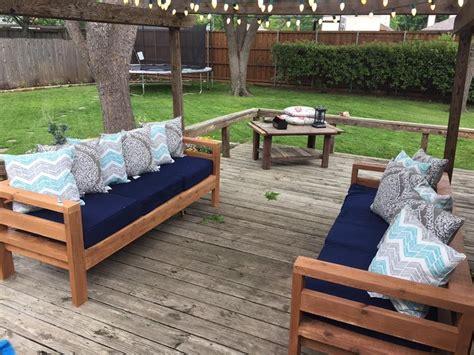 awesome plans  diy patio furniture decorisme