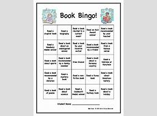 Book Bingo Creative Ideas for Independent Reading by Jen