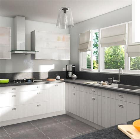 cuisine equipee bois cuisine équipée bois blanc cuisine en image