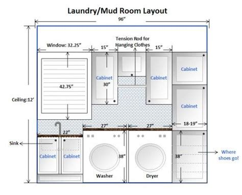 bathroom floor plans with washer and dryer 17 best ideas about laundry room layouts on