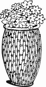 Coloring Pottery Pages Vase Colorpagesformom Colorful Mandala sketch template
