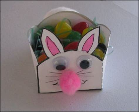 easter projects for preschoolers 486   easter bunny basket