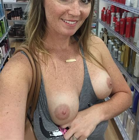 Naughty Girls Flashing In Stores